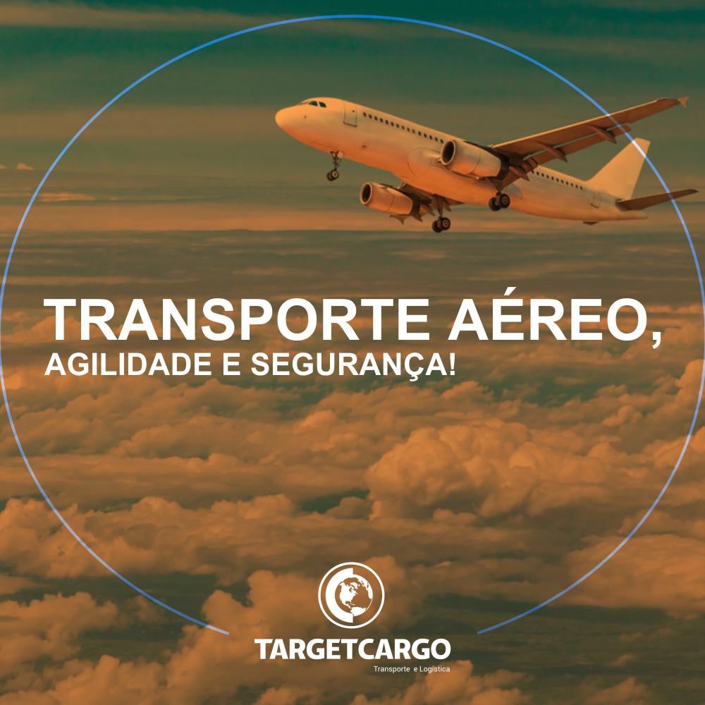 Transporte aéreo, agilidade e segurança!