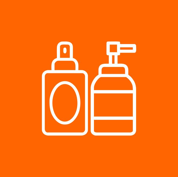 Cosméticos e Produtos para Higiene
